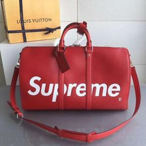 Louis Vuitton X Supreme Large Red ( More Styles And Brands Available)
