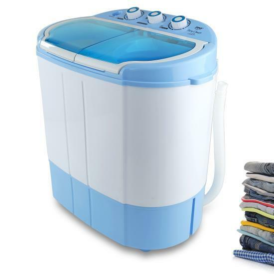 Pyle Compact & Portable Washer & Dryer, Mini Washing Machine