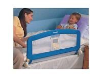 TOMY universal bed rail (blue) - good condition.