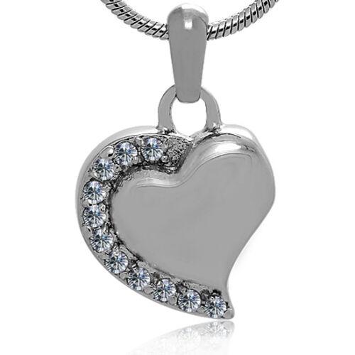 Memorial Cremation Jewelry,Pendant,Urn,Keepsake Ash,Funeral cremation urn,Heart