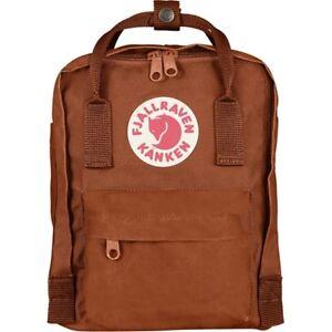 9754ae578d Fjallraven Kanken Mini Backpack 7l Brick F23561 for sale online