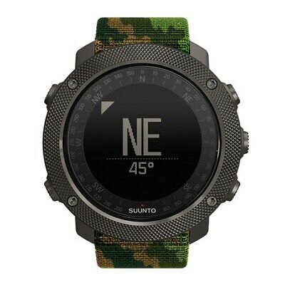 Suunto Traverse Alpha Stealth GPS GLONASS Fishing Hunting Wrist Watch Woodland