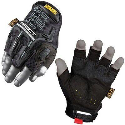 Mechanix Wear MFL-55-011 Wear M-Pact Fingerless Glove Black X-Large