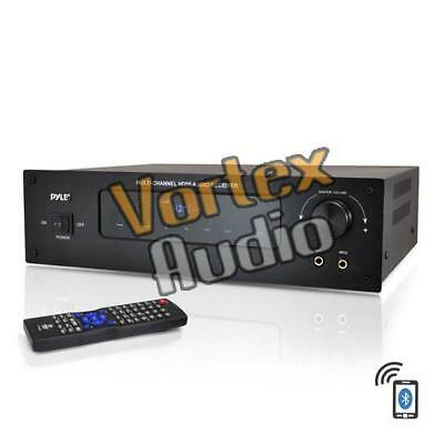 Pyle Home Bluetooth 5.1 HDMI Digital Stereo AM/FM Receiver 300W Amplifier PT592A