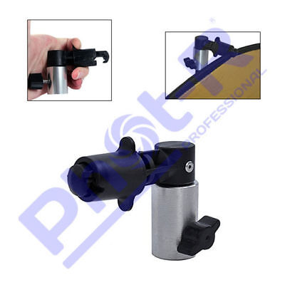 Phot-R Photo Studio Background 5in1 Reflector Clip Clamp Holder Light Stand