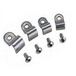 stainless steel 3/8 fuel line clamps