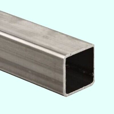 Stainless Steel Hollow Square Tube 78 I.d. X 1 O.d. X 6 Ft Long .065 Wall