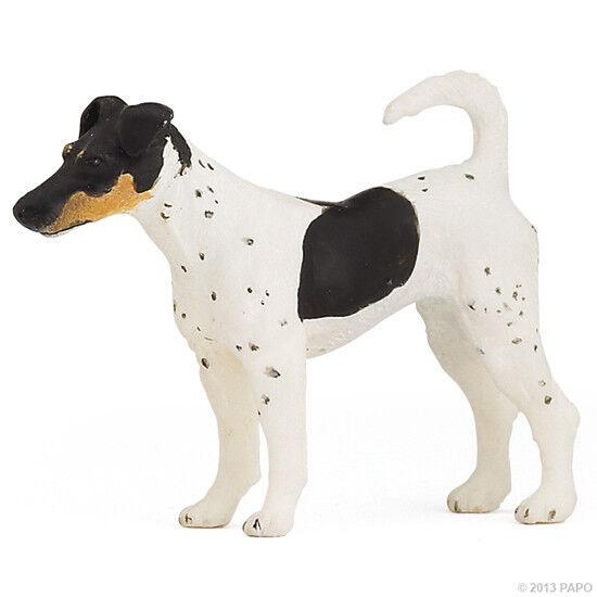 X20) PAPO (54017) Foxterrier Terrier  Bauernhof Hund Hunde