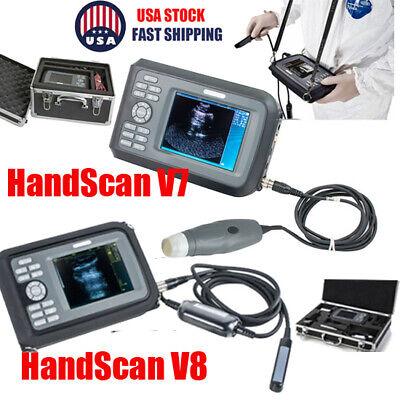 Portable Vet Veterinary Animal Ultrasound Scanner Machine 3.5mhz Rectal Probe
