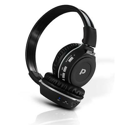 Pyle Bluetooth Wireless Mp3 Headphones, Built-in Micropho...