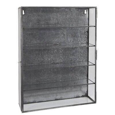 Wall Hanging Storage Cabinet With 4 Shelves & Glass Door by Ib Laursen segunda mano  Embacar hacia Spain