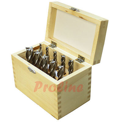 10 Pc Hss 4 Flute 316 To 34 Single End Mill Set Shank Dilling Milling