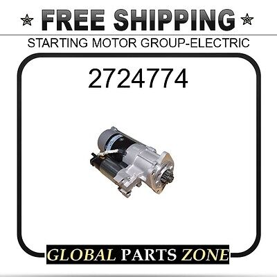 2724774 - STARTING MOTOR GROUP-ELECTRIC 10R7586 for Caterpillar (CAT)