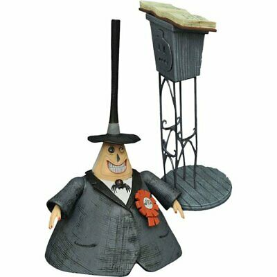 "Diamond Select Nightmare Before Christmas "" The Mayor "" Deluxe Action Figure"