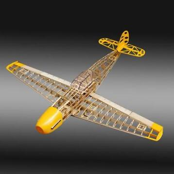 BF109 Fighter 1020mm Spanwijdte Balsa Wood Model Aircraft...