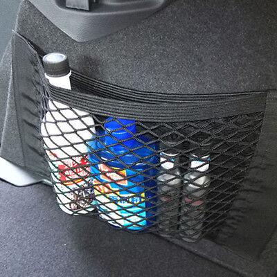 Auto posteriore posteriore tronco sedile corda elastica rete maglia tasca Pocket