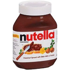 Ferrero Nutella Hazelnut Spread With Cocoa 33.5 oz Large Jar