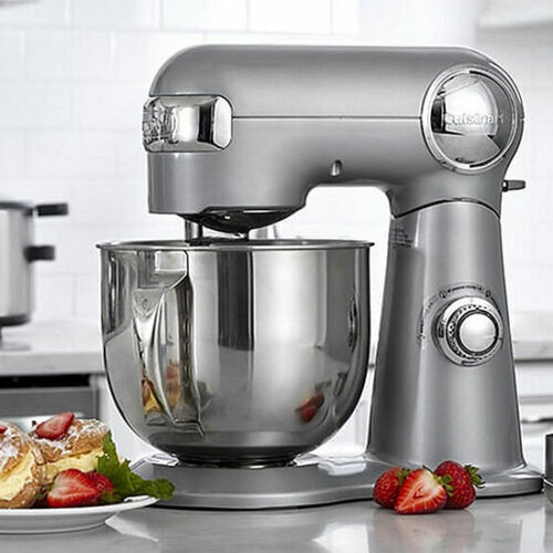 Cuisinart SM-50BC Precision Master 5.5-Quart Stand Mixer, Chrome
