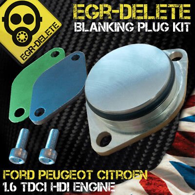 EGR valve Blanking Plate Ford Fiesta, Focus, C-Max, Fusion 1.6 TDCi EGR DELETE
