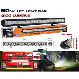BRAND NEW KORR 90W LED LIGHT BAR 18 LEDS 8100 LUMENS 756MM IP68 Maryborough Fraser Coast Preview