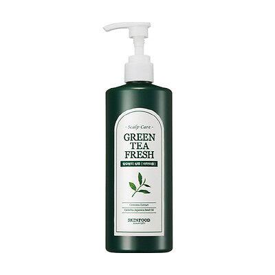 [SkinFood] Green tea Fresh Shampoo 400ml, Greentea