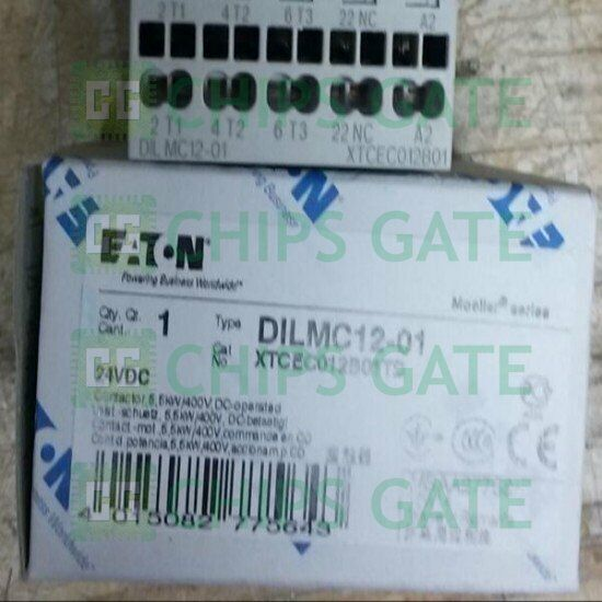 1PCS New Eaton Moeller DILMC12-01 Contactor Fast Ship