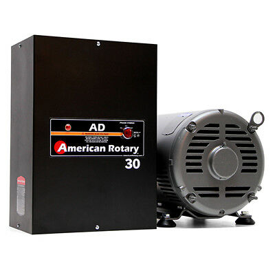 American Rotary Ad30 30hp 240v Wall Mount Ad Series Rotary Phase Converter