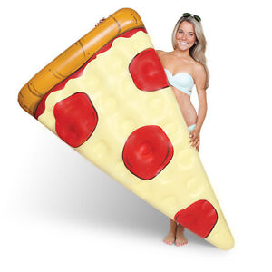 Indulge In A Giant Pizza Pool Float by Big Mouth Toys!