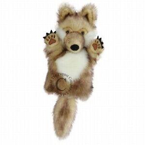 Handpuppe Wolf  30cm Serie NEUWARE