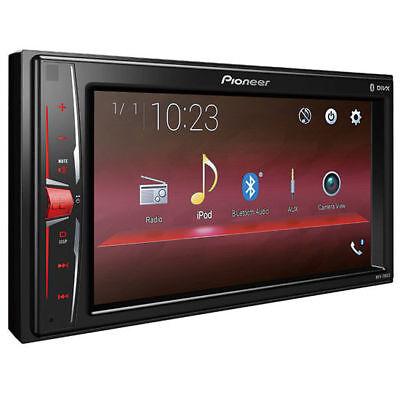 "PIONEER Double DIN 6.2"" Bluetooth Digital Multimedia Video Receiver | MVH-200EX"