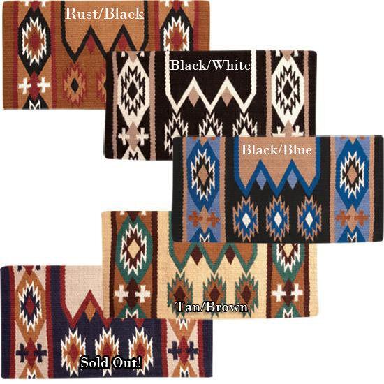 Laredo Show Saddle Blanket