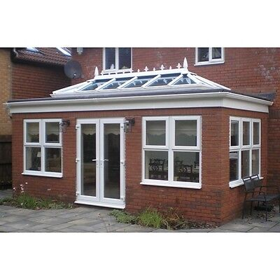 Orangery Skylight Roof Lantern - uPVC Clad Aluminium, Self Clean Glass Roof