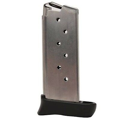 Sig Sauer Mag 938 9 7 Sigtac P938 Magazine 9Mm Luger 7 Rounds Ss W  Extension