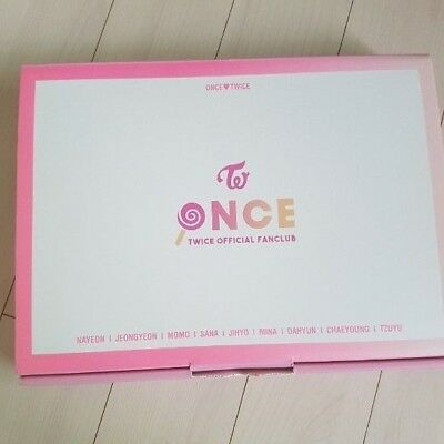 Twice Once 1st Official Membership Fan Kit Limited Rare Opend