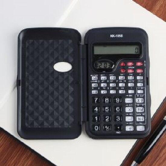 10-Digit Scientific Calculator / Digital Clock Function