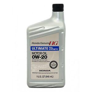 HONDA 0W20 OIL & FILTER PKG FOR THE DIY PERSON