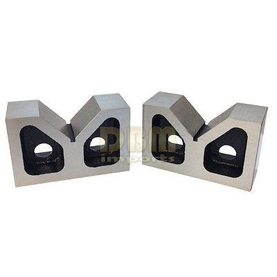 3 Cast Iron Pair V-blocks V-block Ground