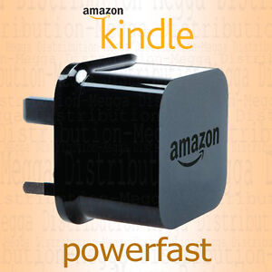 Amazon Kindle PowerFast ACCELERATED 5V 1.8A USB Mains Power Adapter UK Plug