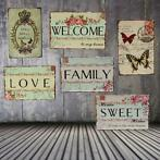 Love Family Tin Sign Vintage Metaal Plaque Poster Bar Hom...