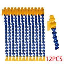 12X Plastic Flexible Water Oil Coolant Pipe Hose Adjustable per Lathe CNC 290mm