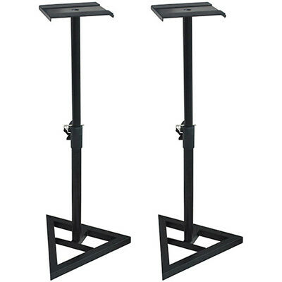 """PA Speaker Stands - Holds up to 10"""" Speakers - SS3518-K 2 Pi"""