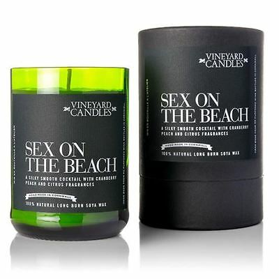 Vineyard Candles Sex on the Beach Shot - Single Shot Candle in Tube