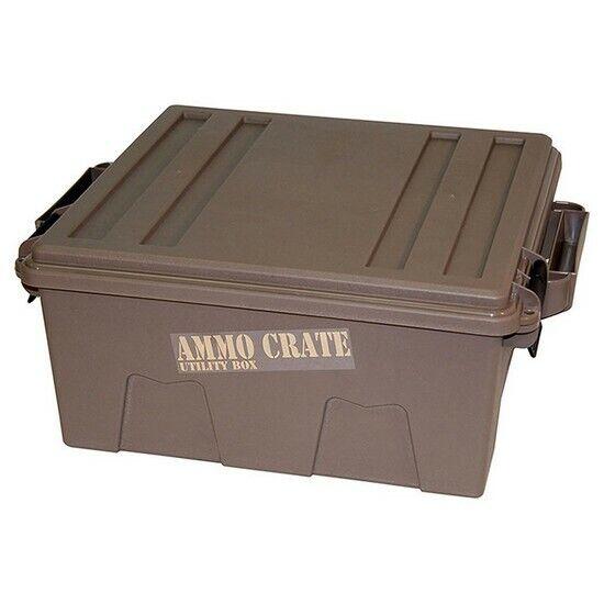 MTM ACR872 Dark Earth Deep Ammo Crate Utility Box Ammunition Case