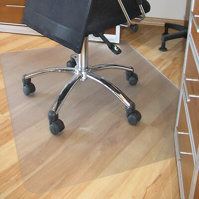 Office Home Mat Floor Protector Massage Chair Frosted PVC Plastic New 130X120cm