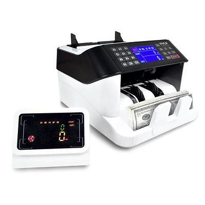 Pyle Prmc720 Automatic Bill Counter - Digital Cash Money Counting Machine