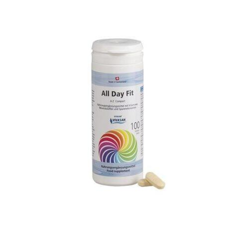 All Day Fit compleet Vitaminencomplex A-Z 100 tabl. 143g ...