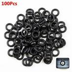 100 Mechanical Keyboard Keycap Rubber O-Ring Switch Dampe...