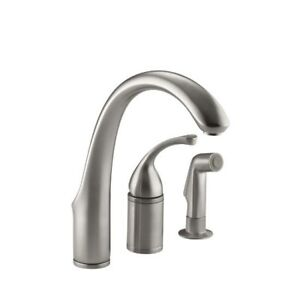 Kohler 10430-VS Forte Single-Control Remote Valve Kitchen Sink F