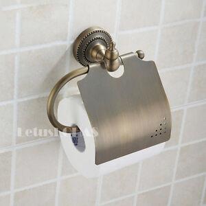 Old Fashion Antique Bronze Brass Bathroom Toilet Paper