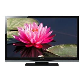 37 INCH SHARP LCD HD TV WITH BUILT IN HD FREEVIEW CHANNELS**CAN BE DELIVERED**